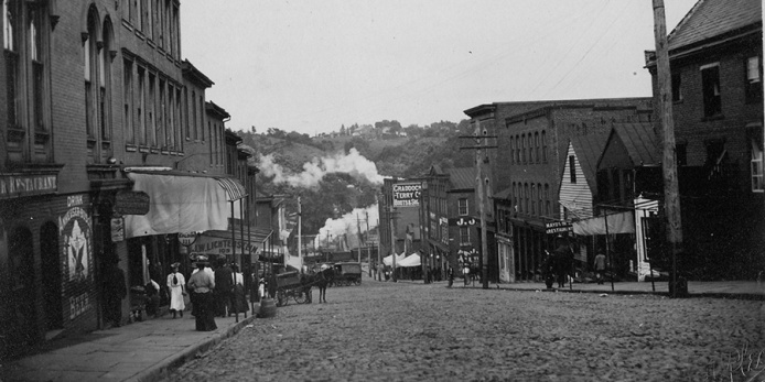 9th Street in 1898